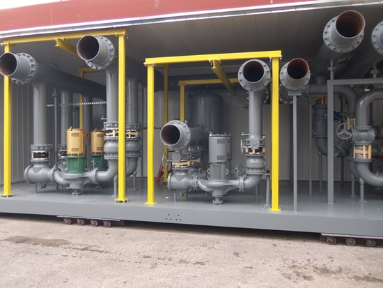 Modular Water Cooled Chiller Plants